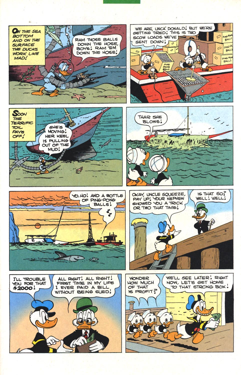 Read online Uncle Scrooge (1953) comic -  Issue #300 - 10