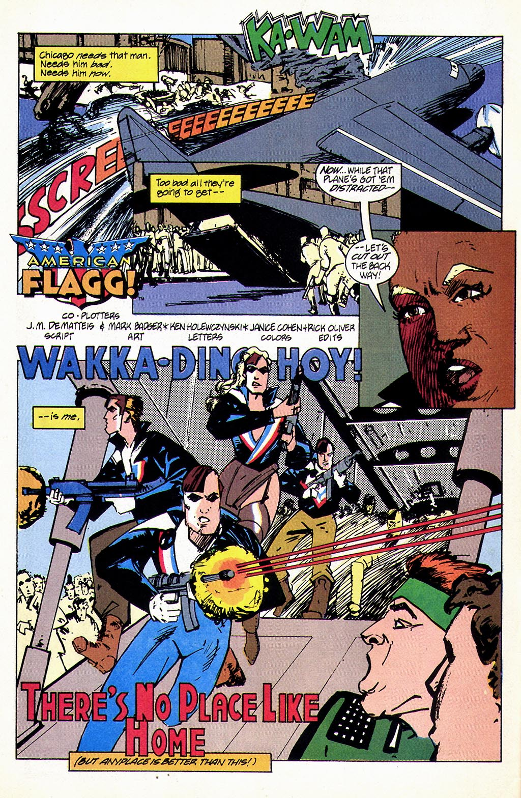 Read online American Flagg! comic -  Issue #45 - 4