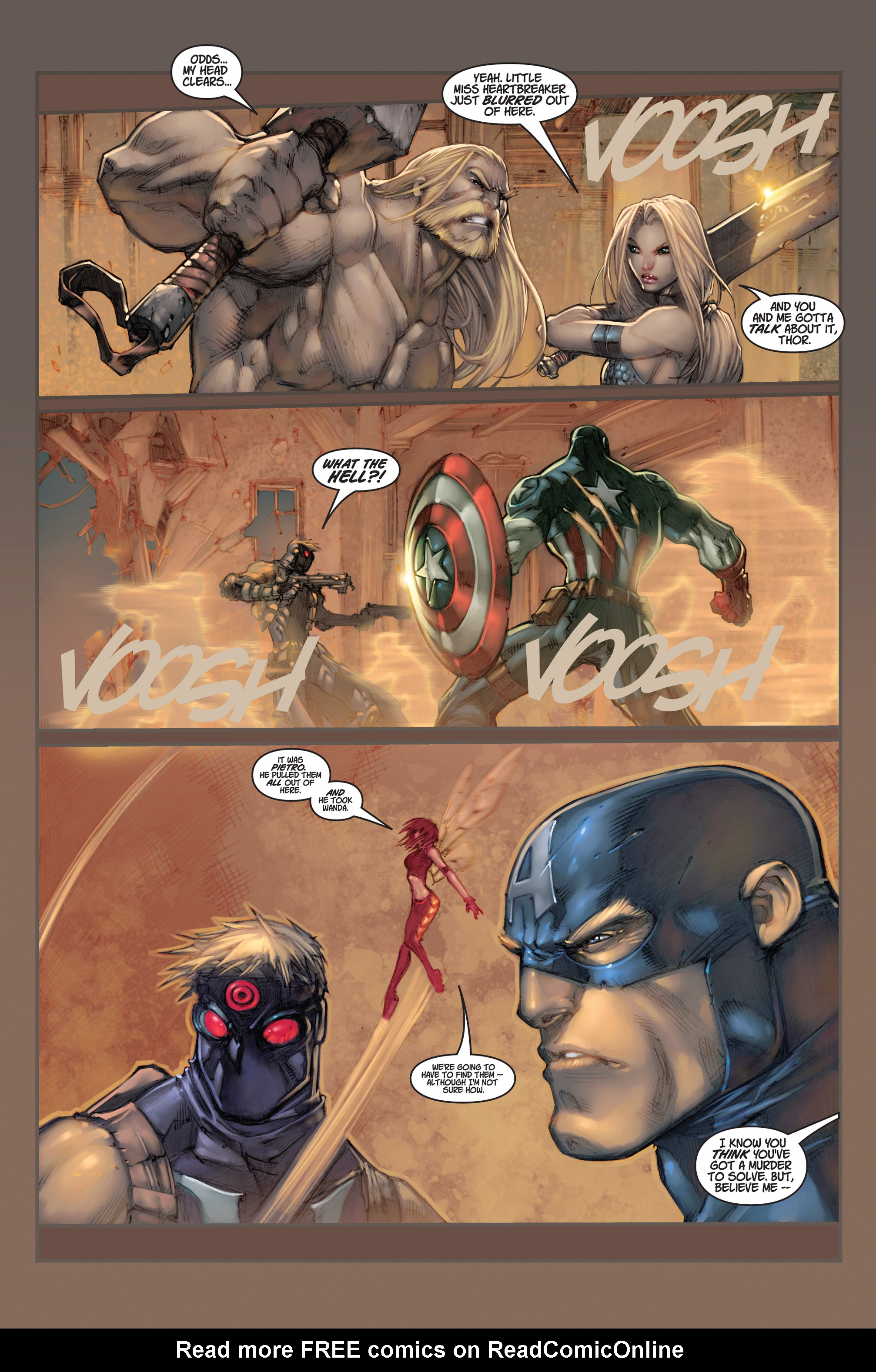 Read online Ultimates 3 comic -  Issue #2 - 22
