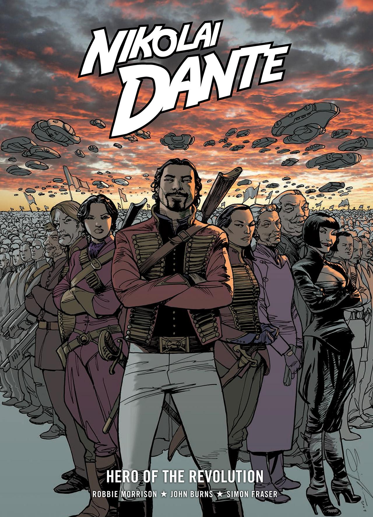 Read online Nikolai Dante comic -  Issue # TPB 10 - 1