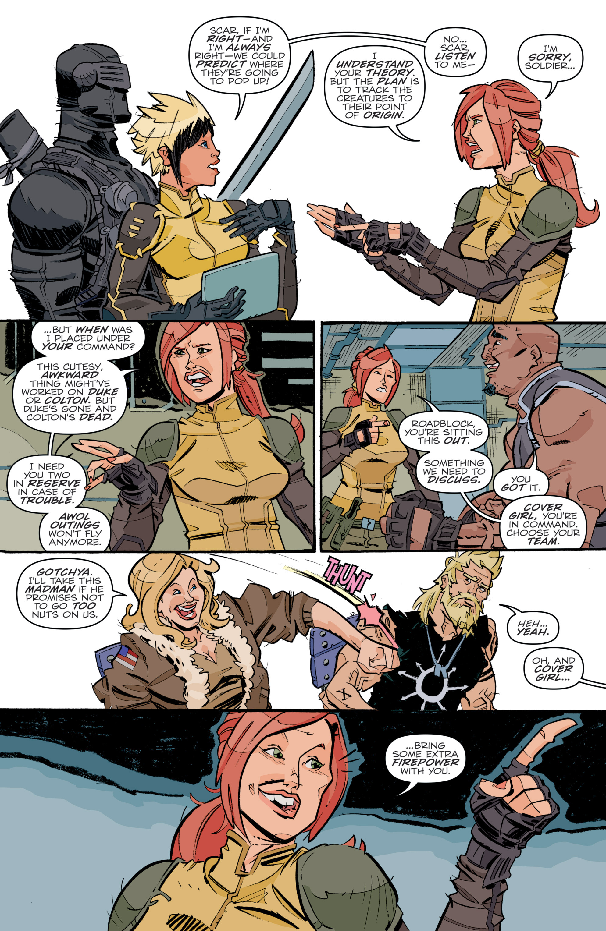 Read online G.I. Joe (2016) comic -  Issue #5 - 13