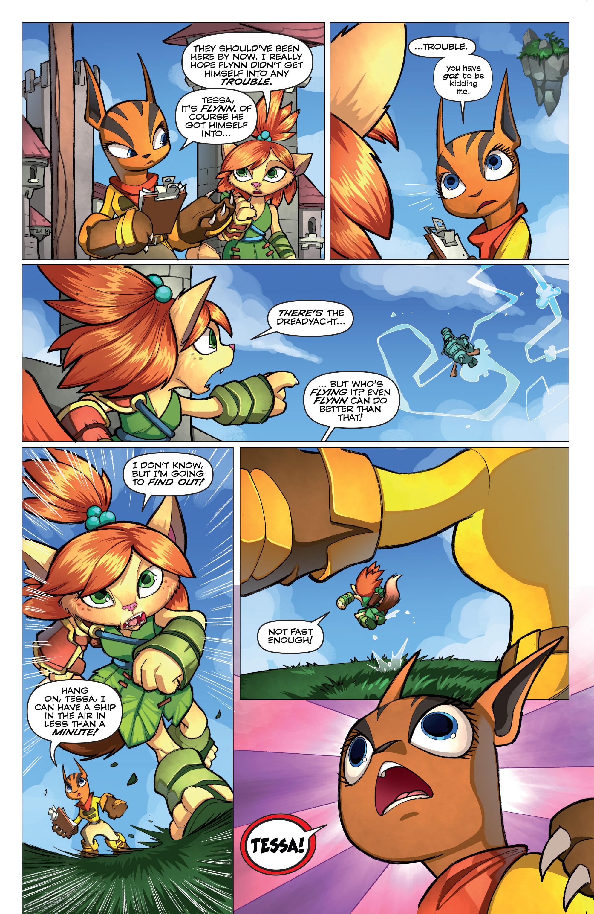 Read online Skylanders comic -  Issue #2 - 4