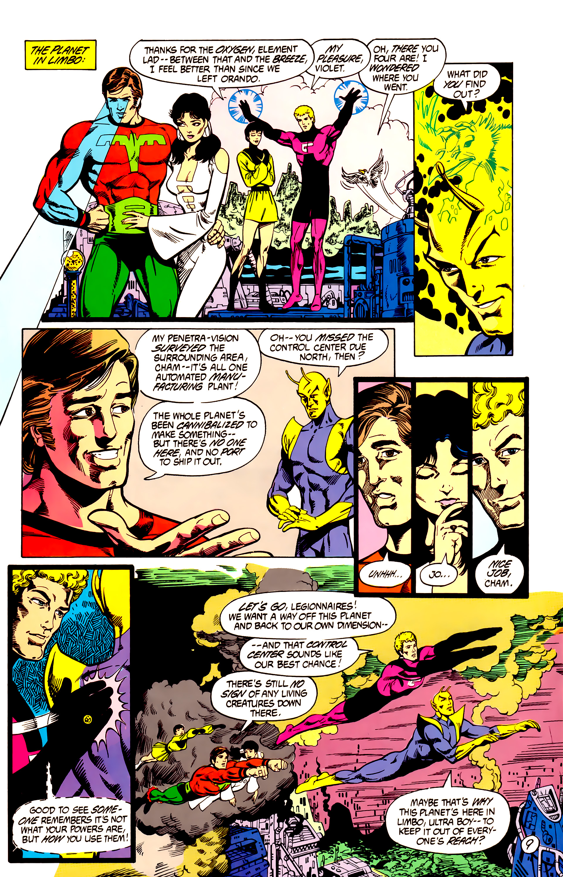 Legion of Super-Heroes (1984) 7 Page 10