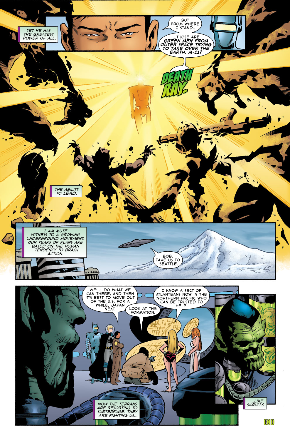Read online Agents Of Atlas (2009) comic -  Issue #0 - 9