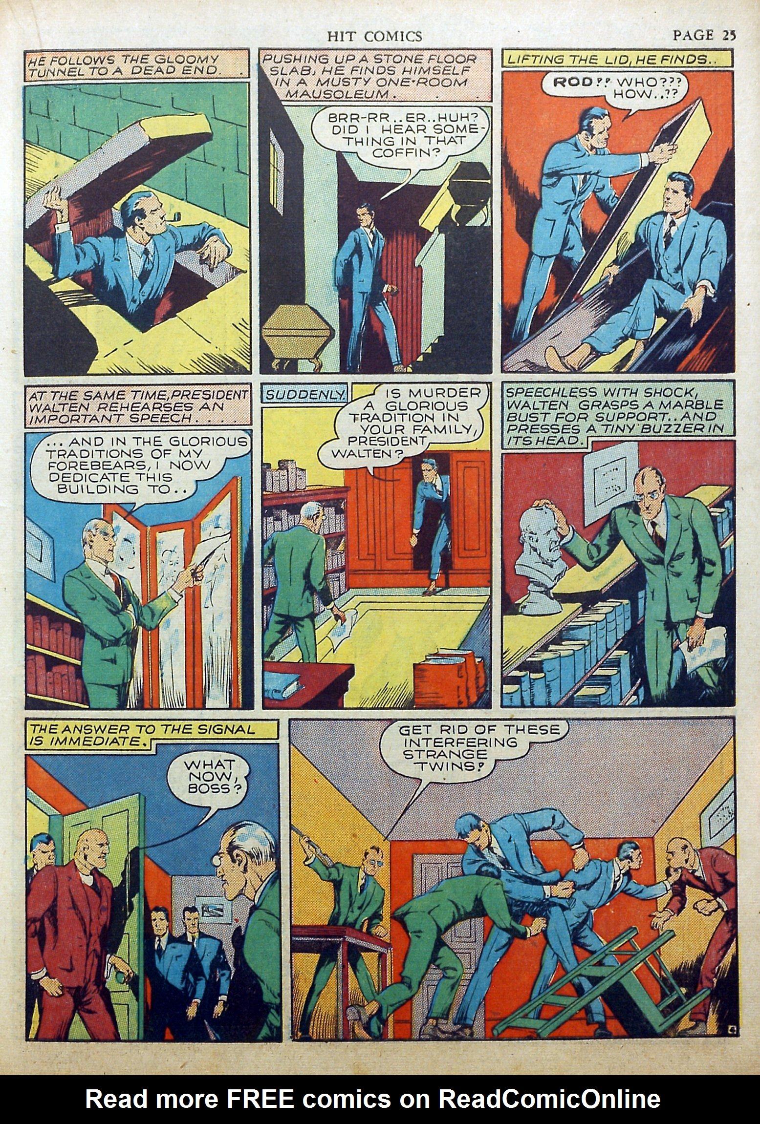Read online Hit Comics comic -  Issue #17 - 27