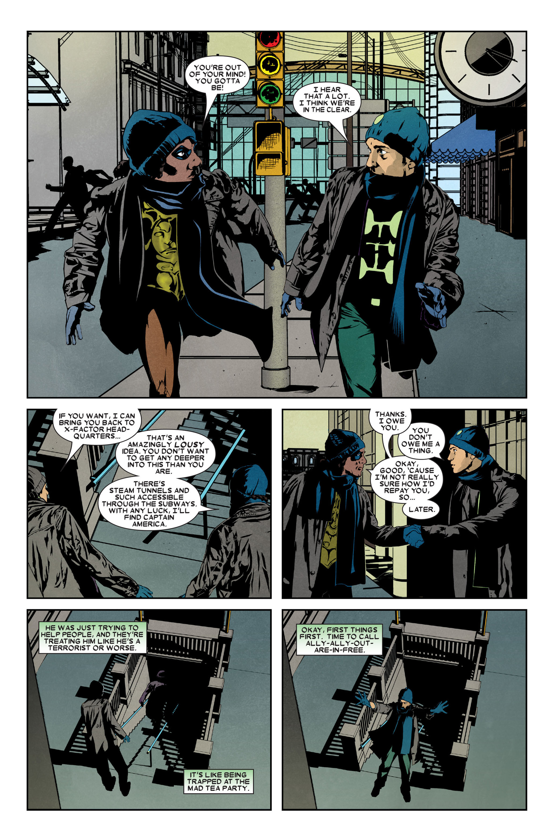 Read online X-Factor (2006) comic -  Issue #9 - 14