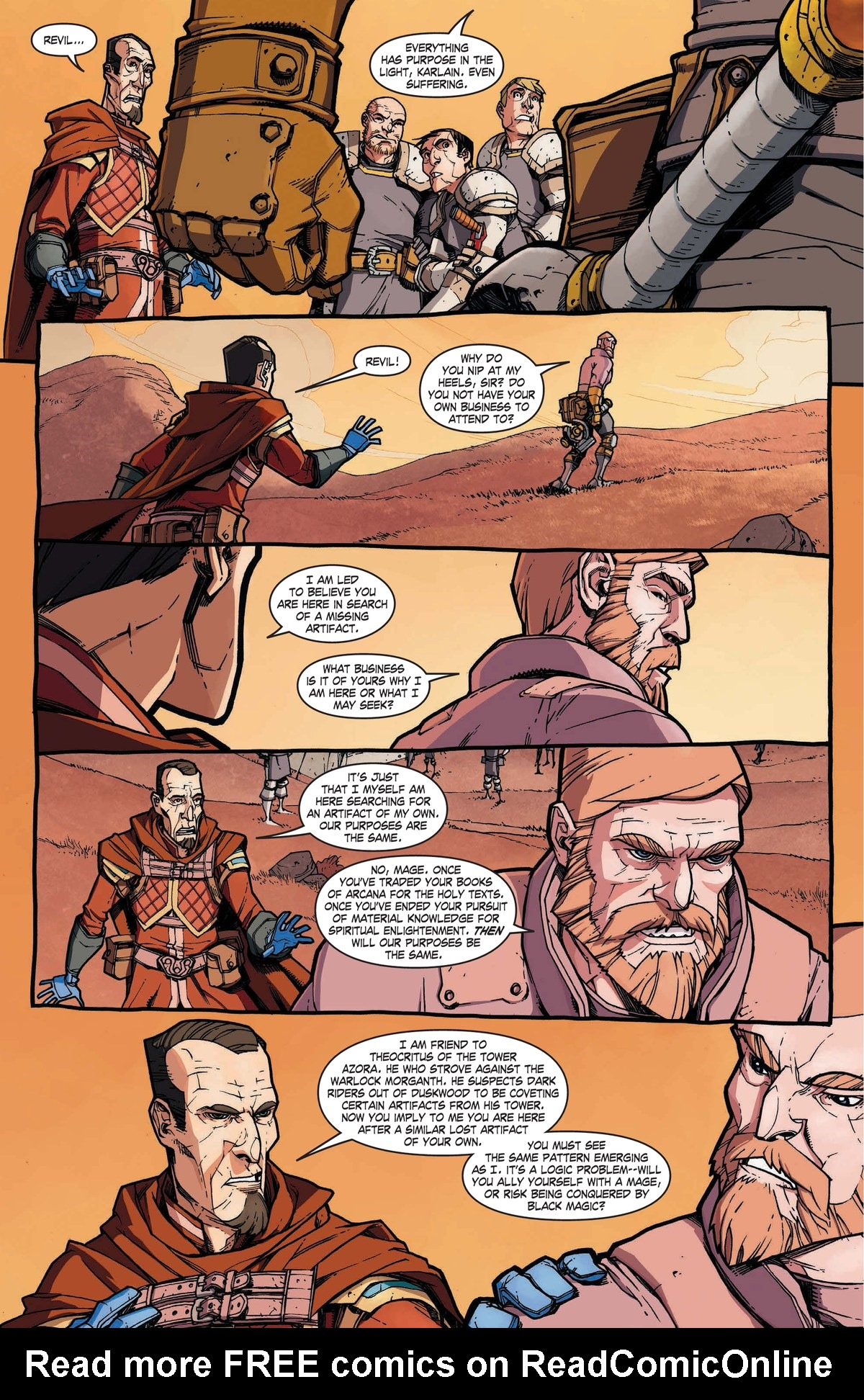 Read online World of Warcraft: Dark Riders comic -  Issue # Full - 27
