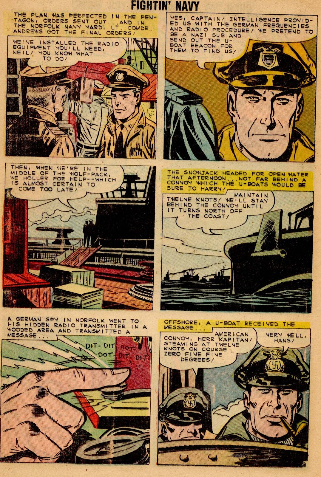 Read online Fightin' Navy comic -  Issue #90 - 20