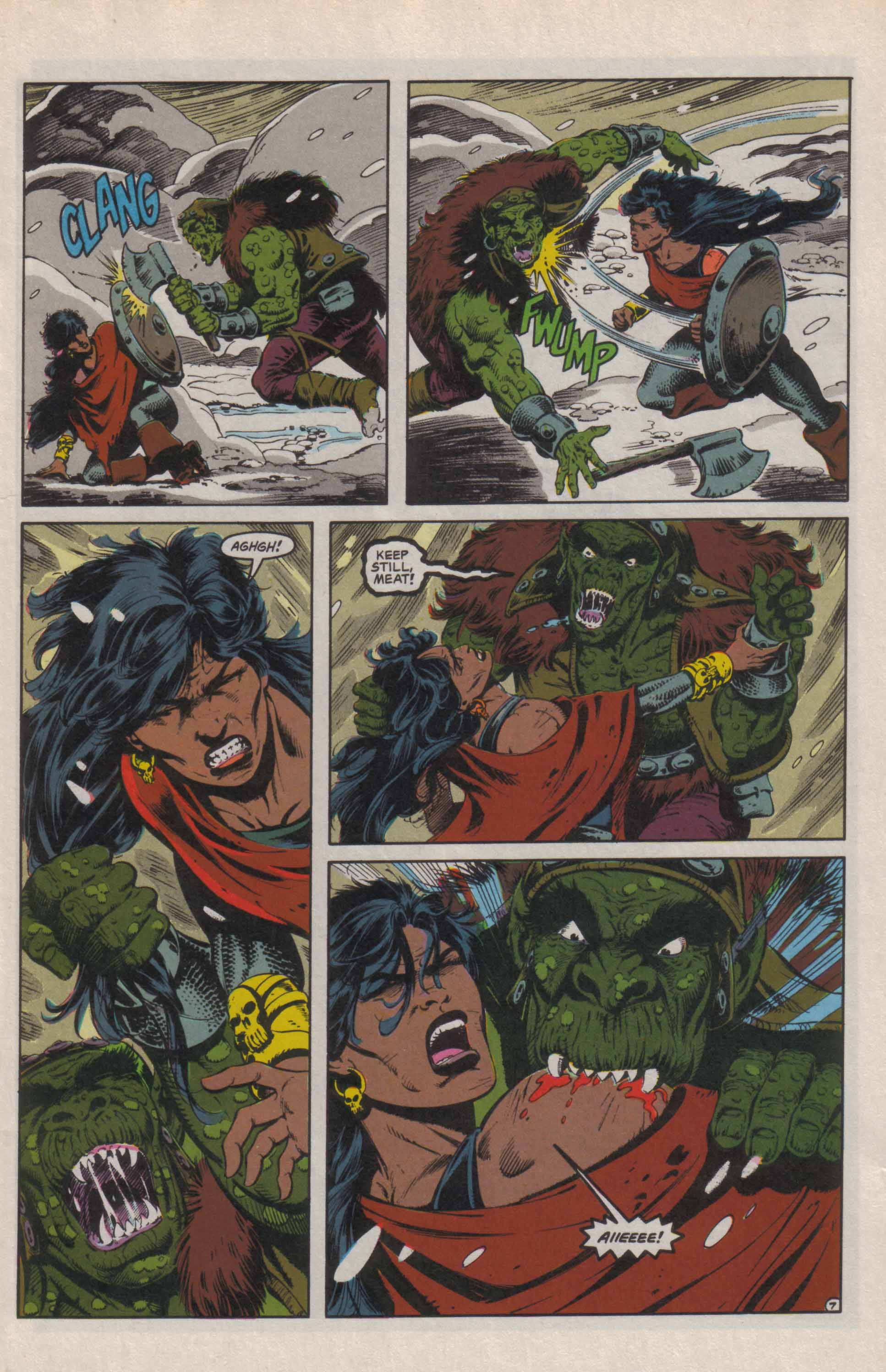 Read online Advanced Dungeons & Dragons comic -  Issue #24 - 8