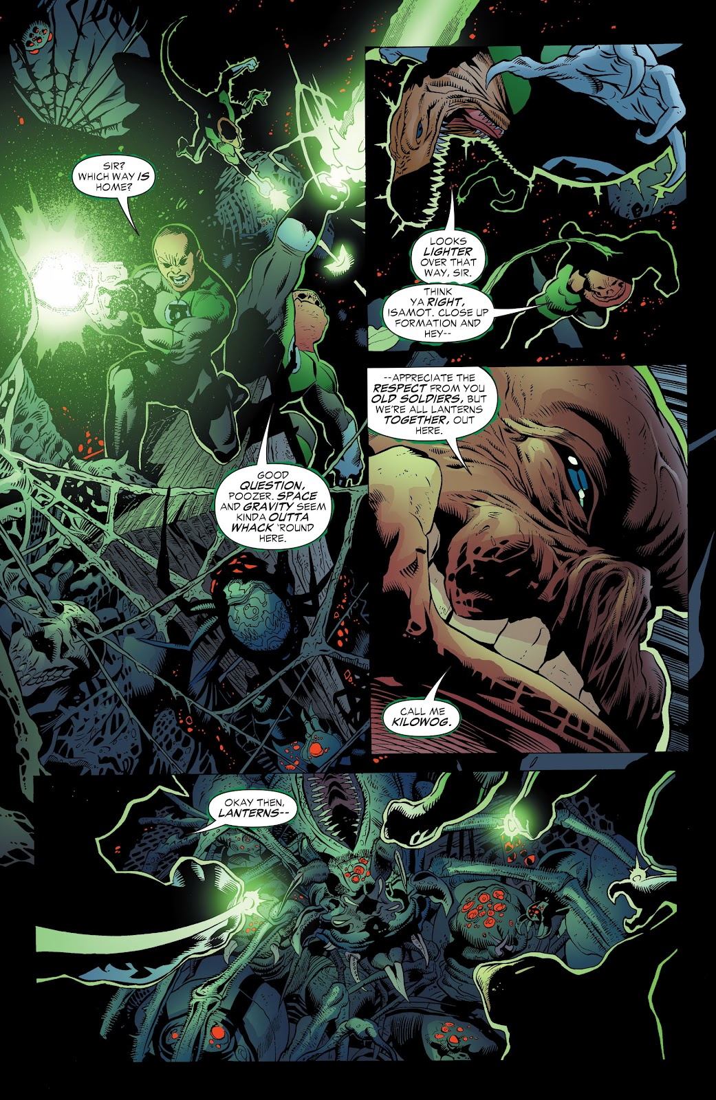 Read online Green Lantern by Geoff Johns comic -  Issue # TPB 1 (Part 3) - 39