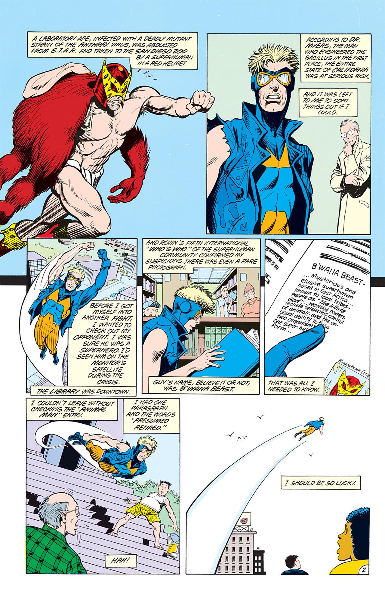 Read online Animal Man (1988) comic -  Issue #4 - 4