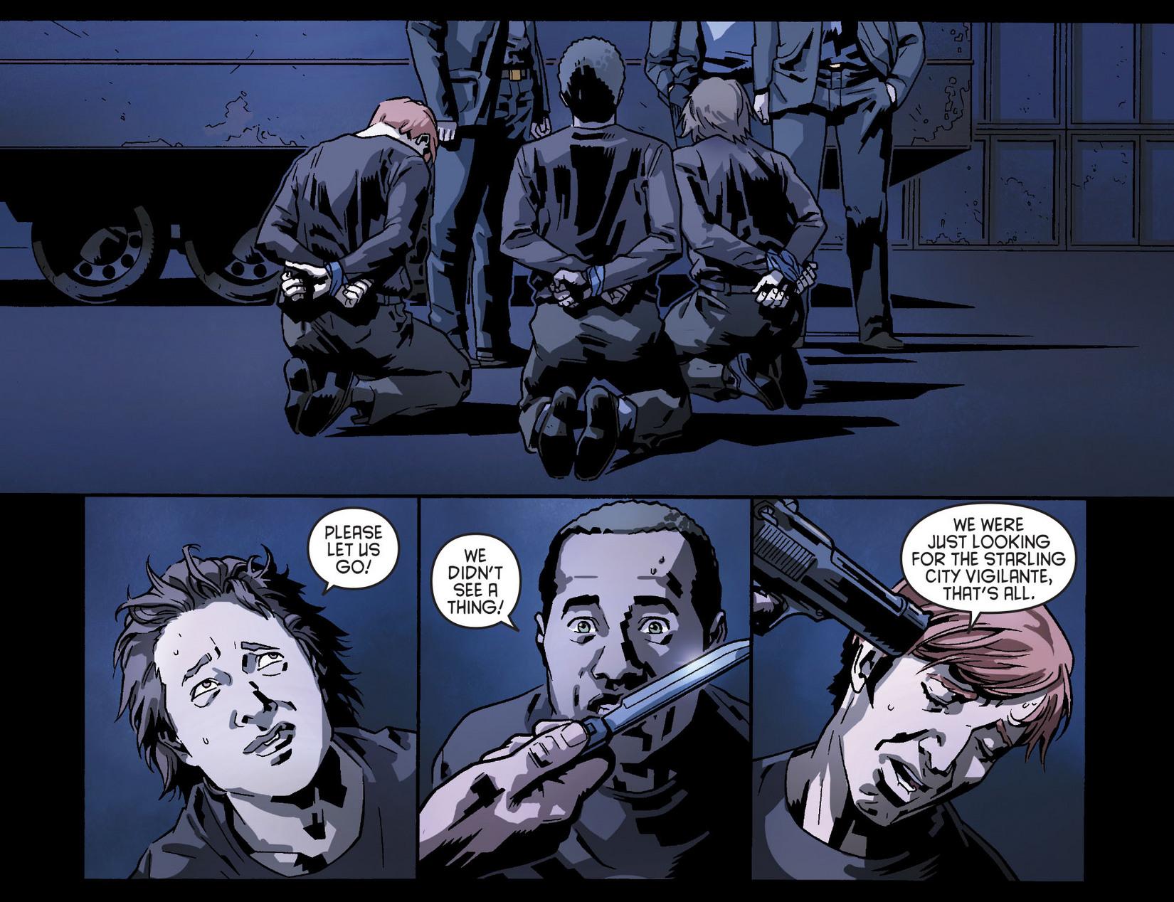 Read online Arrow [II] comic -  Issue #8 - 11