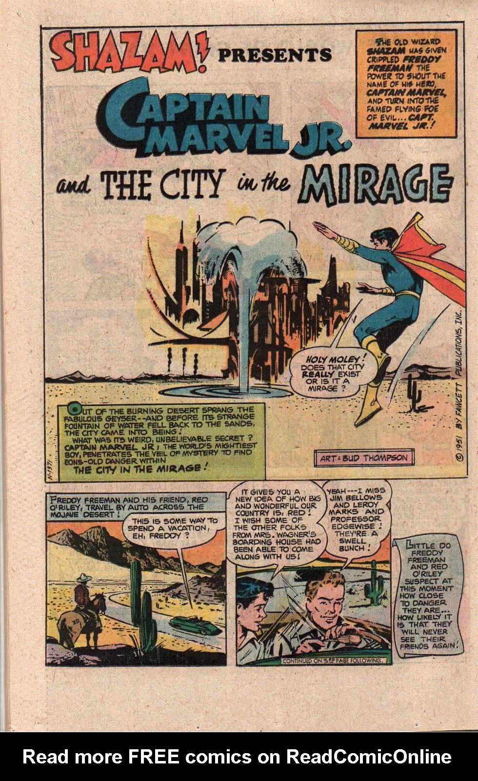 Read online Shazam! (1973) comic -  Issue #21 - 22