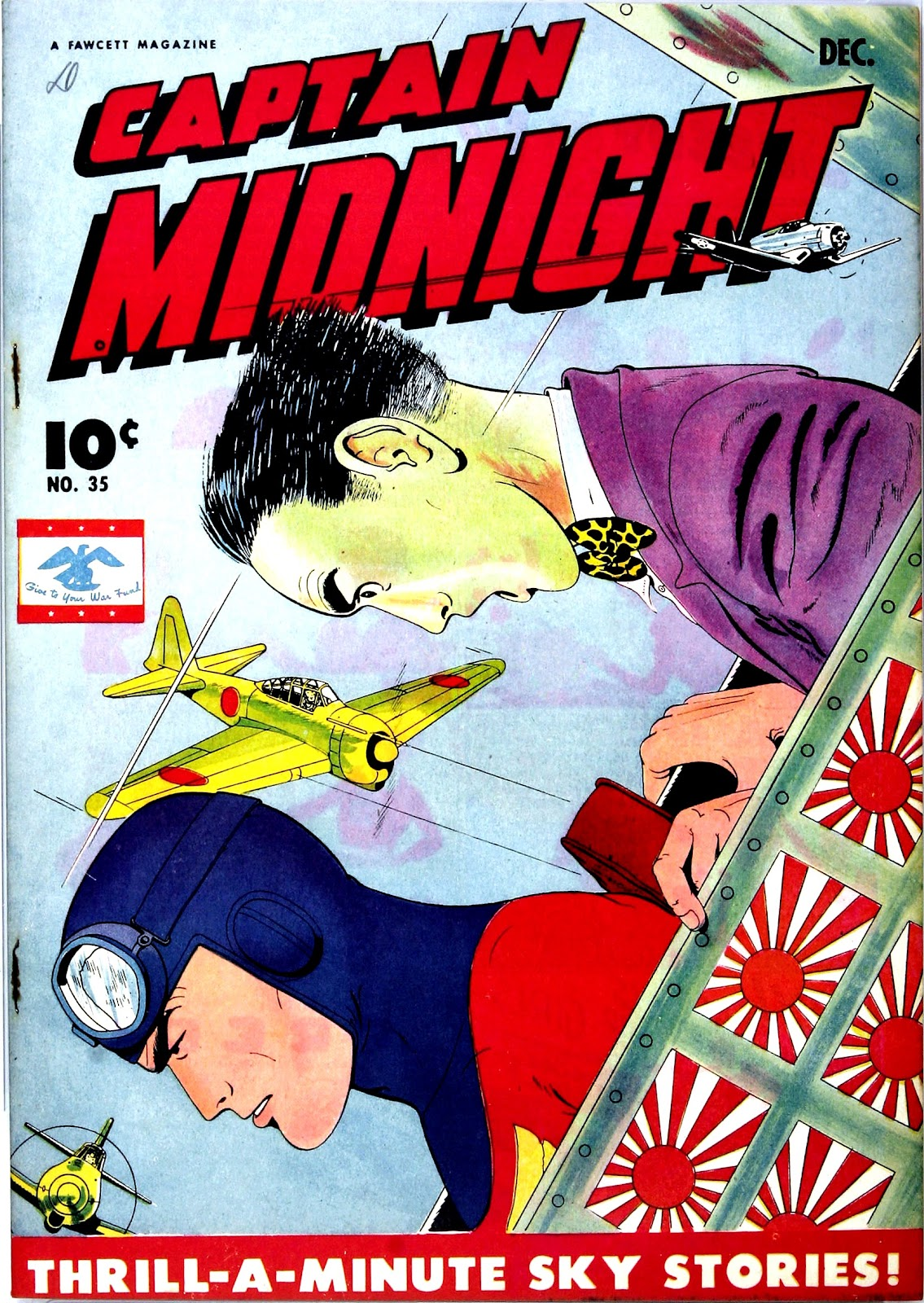 Captain Midnight (1942) 35 Page 1