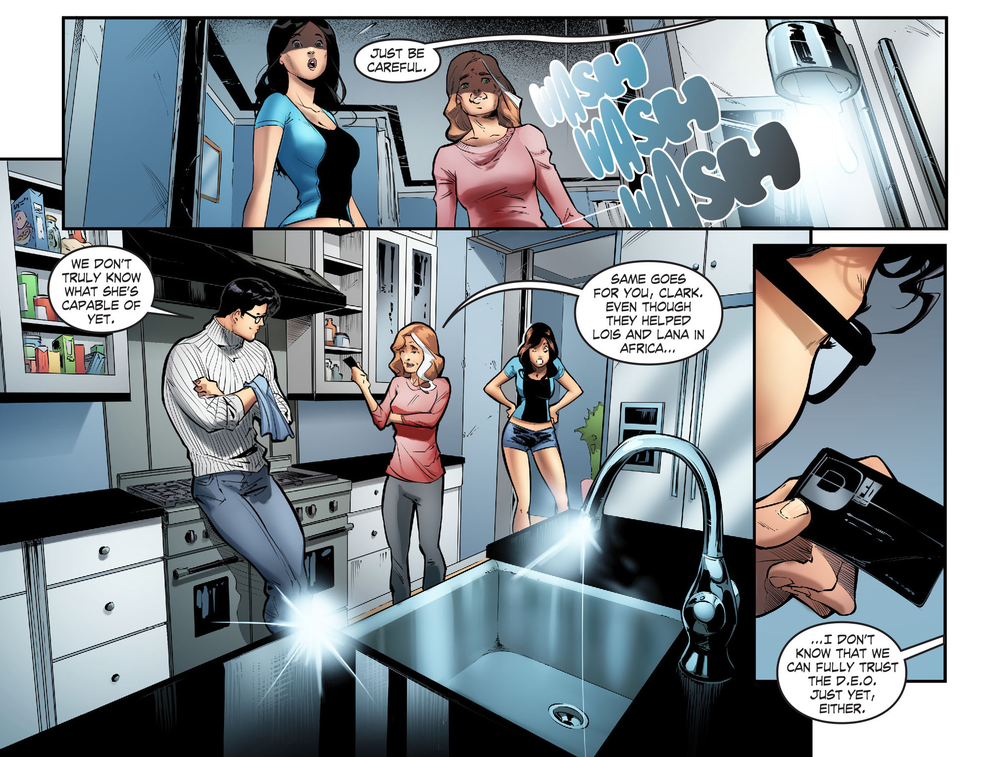 Read online Smallville: Season 11 comic -  Issue #57 - 14