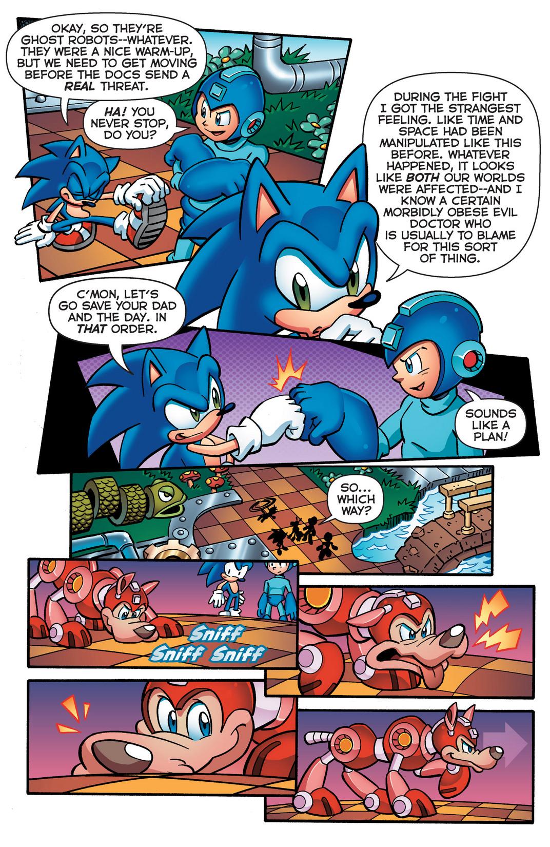 Read online Sonic Mega Man Worlds Collide comic -  Issue # Vol 2 - 26