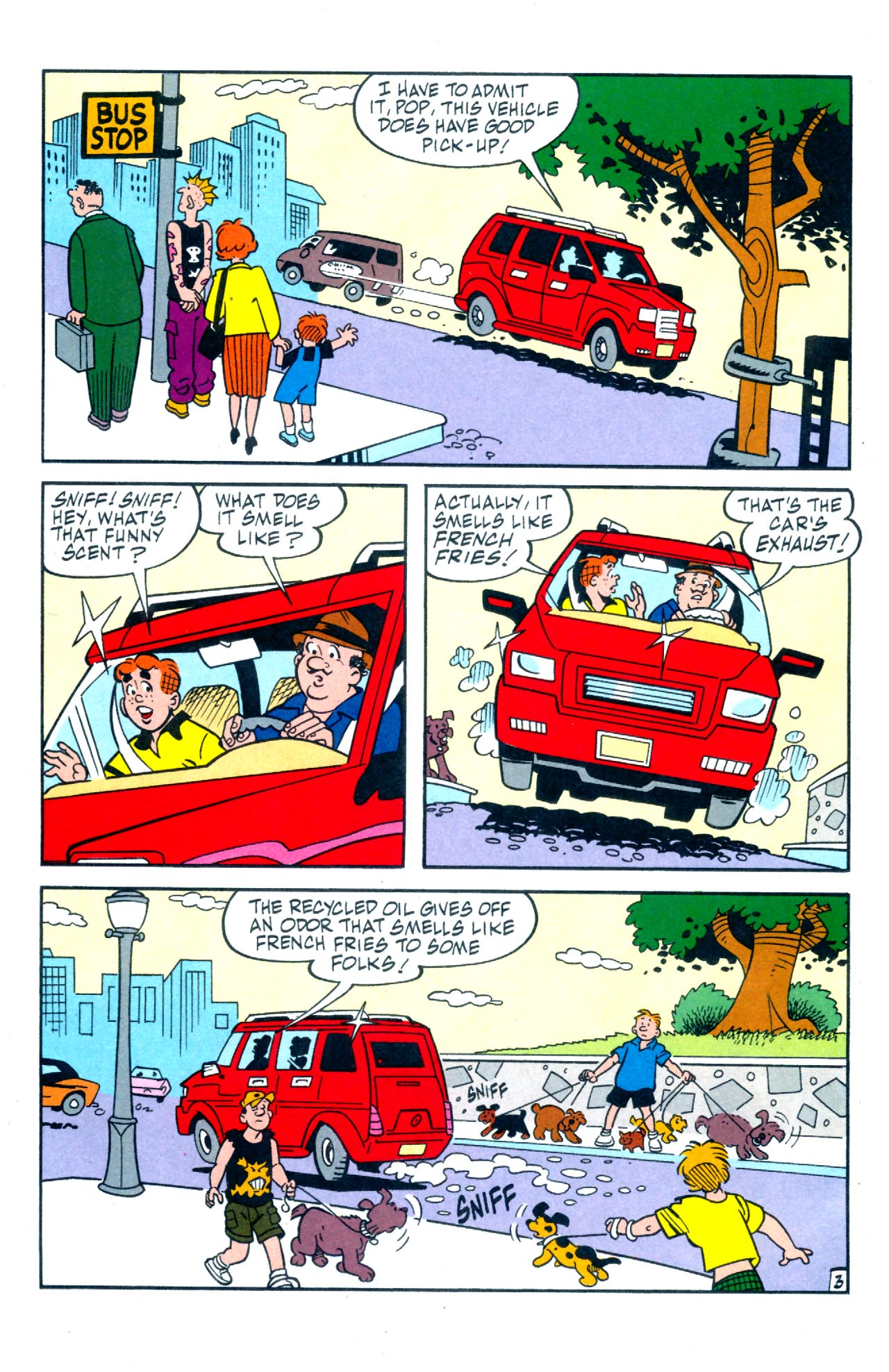 Read online Archie (1960) comic -  Issue #575 - 10