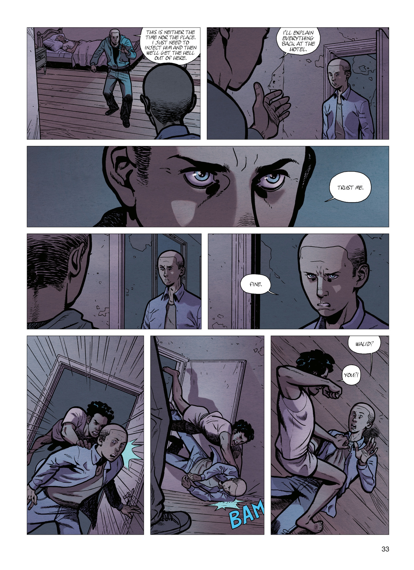 Read online Alter Ego comic -  Issue #4 - 35