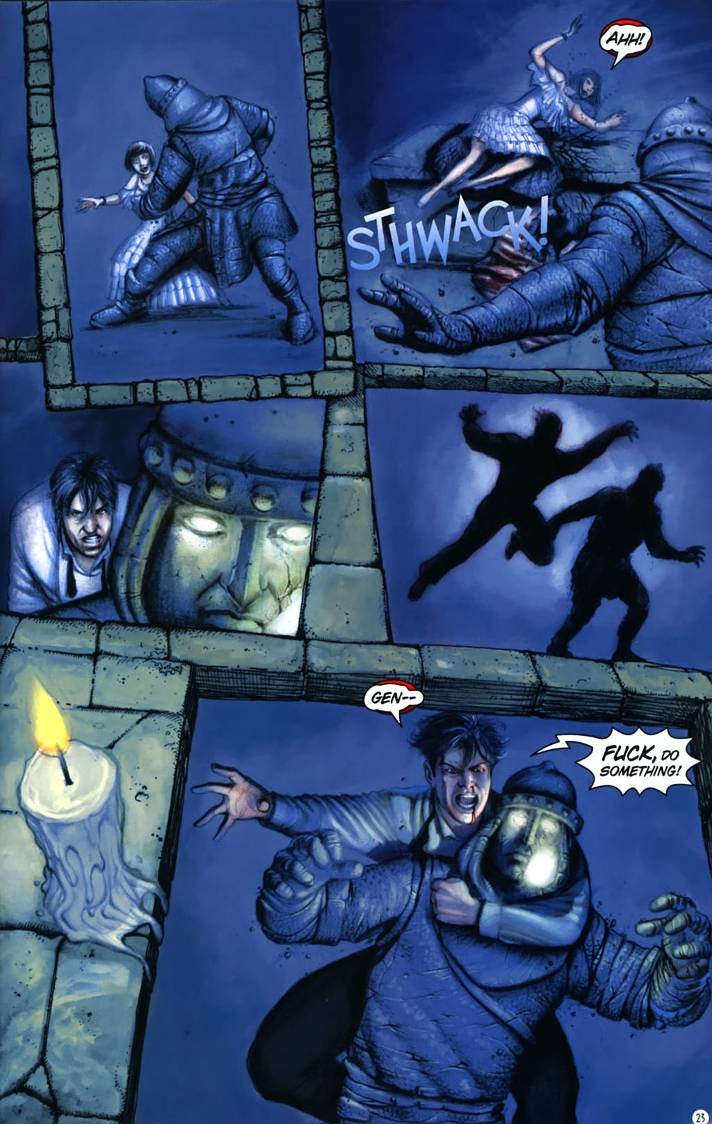Read online Rex Mundi comic -  Issue #17 - 27