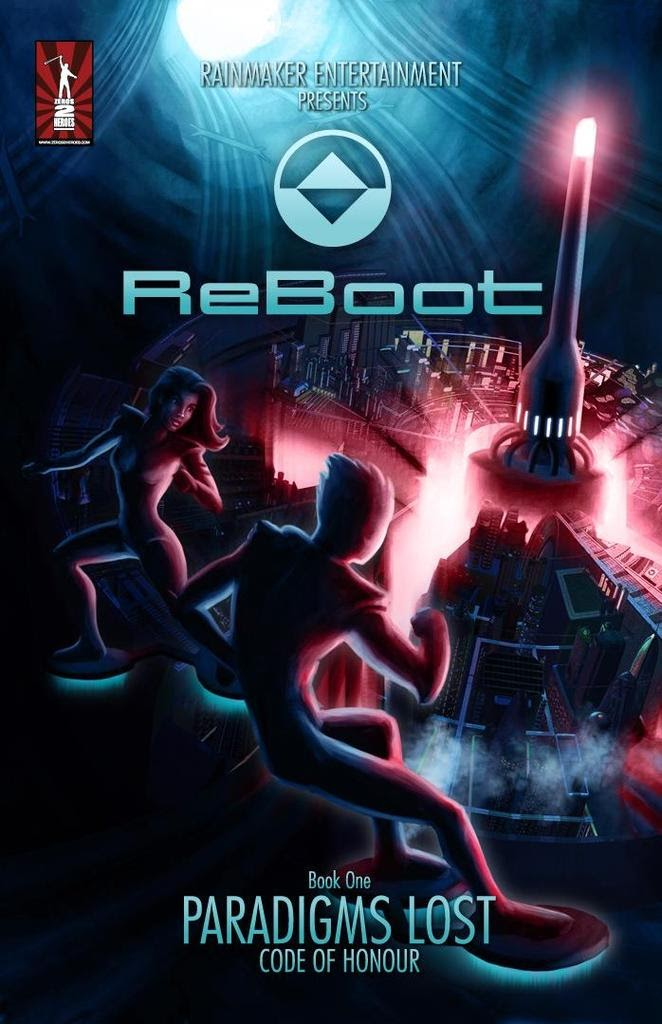 Read online ReBoot: Paradigms Lost comic -  Issue # Full - 1