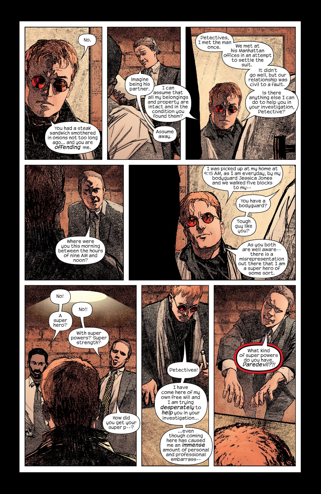 Read online Daredevil (1998) comic -  Issue # _Ultimate_Collection TPB 2 (Part 1) - 85
