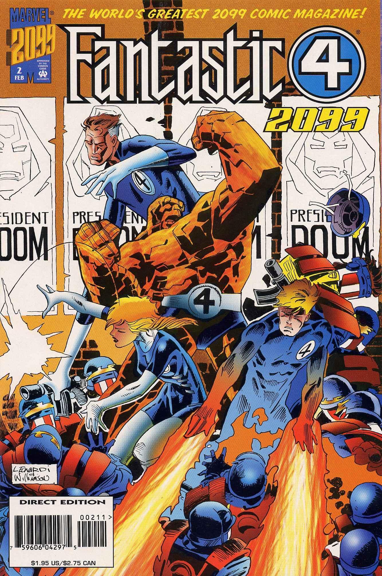 Fantastic Four 2099 2 Page 1