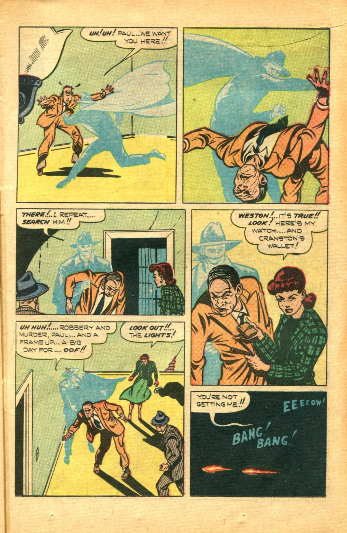 Read online Shadow Comics comic -  Issue #91 - 15