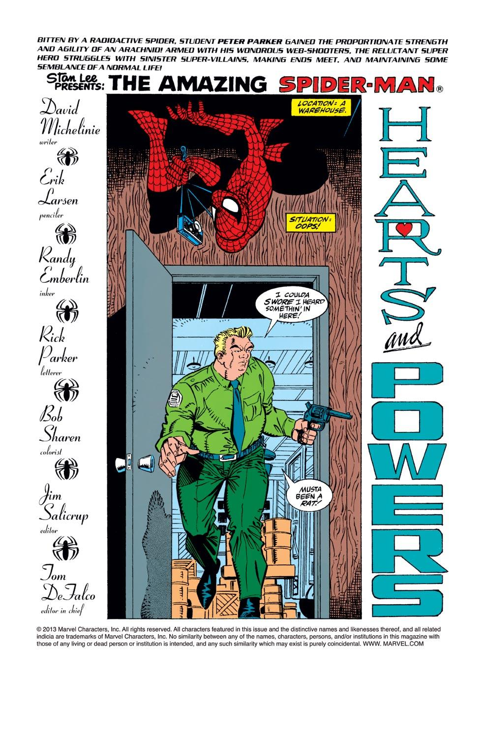 The Amazing Spider-Man (1963) 344 Page 1