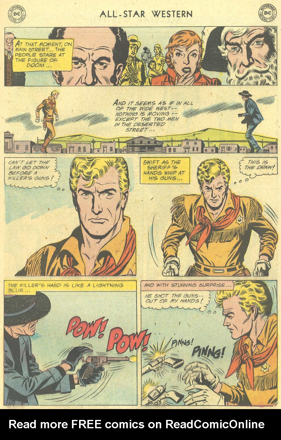 Read online All-Star Western (1951) comic -  Issue #101 - 13
