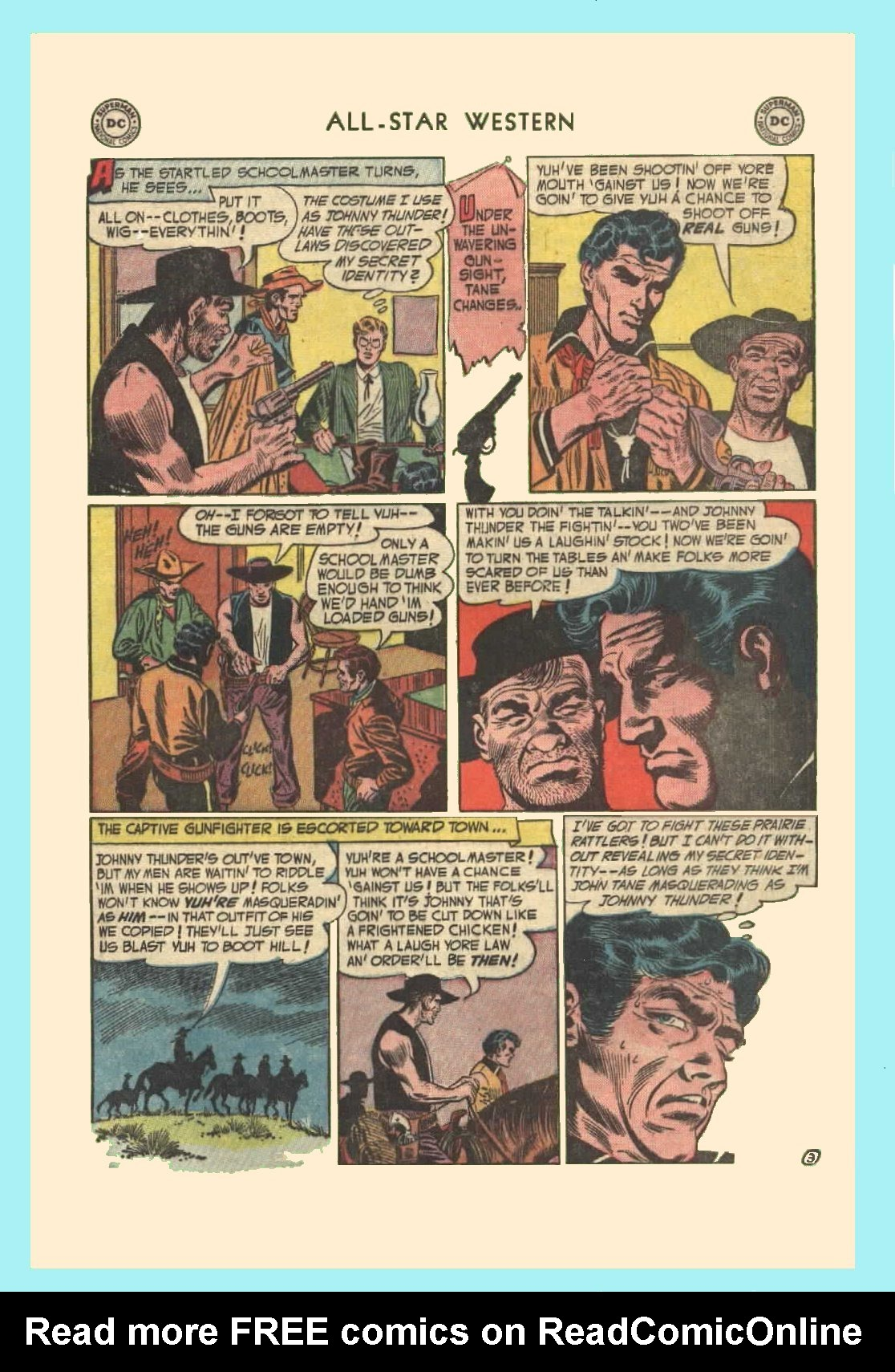 Read online All-Star Western (1951) comic -  Issue #72 - 5