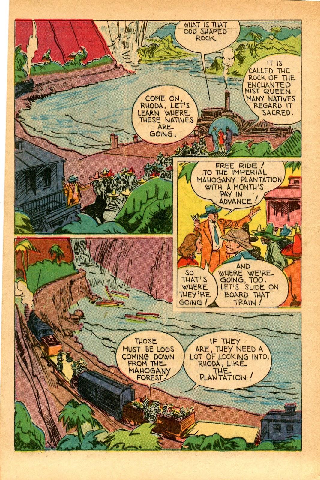 Read online Super-Magician Comics comic -  Issue #33 - 6