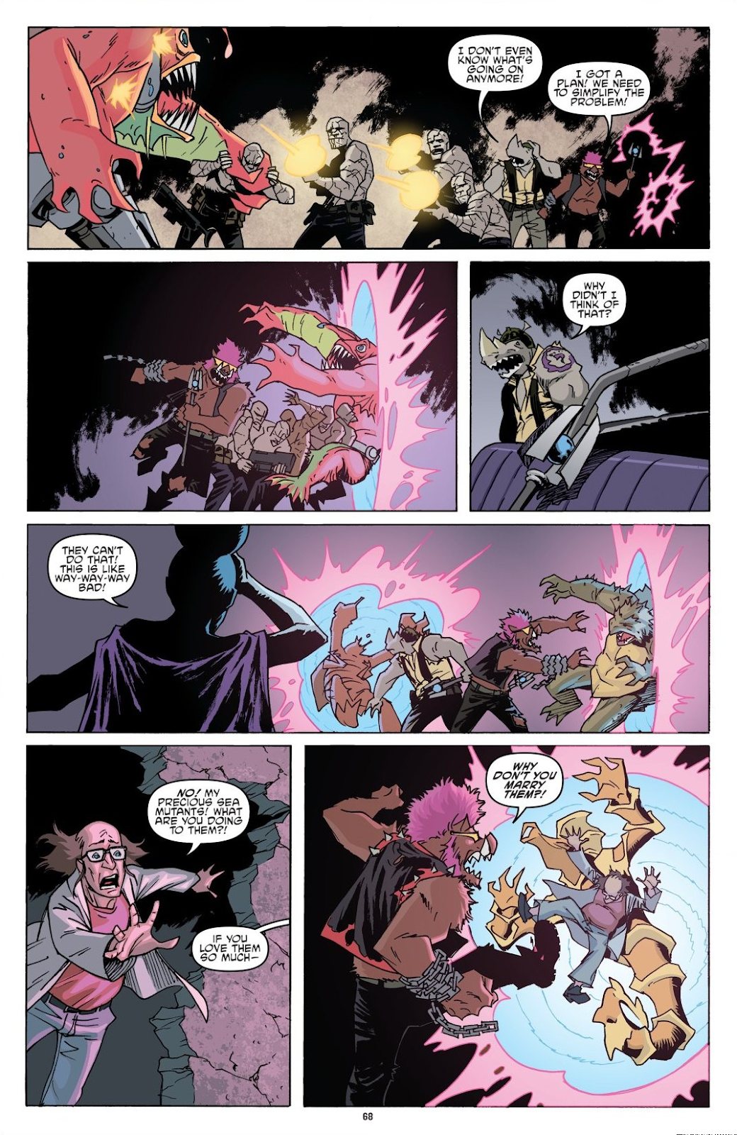 Read online Teenage Mutant Ninja Turtles: The IDW Collection comic -  Issue # TPB 8 (Part 1) - 67