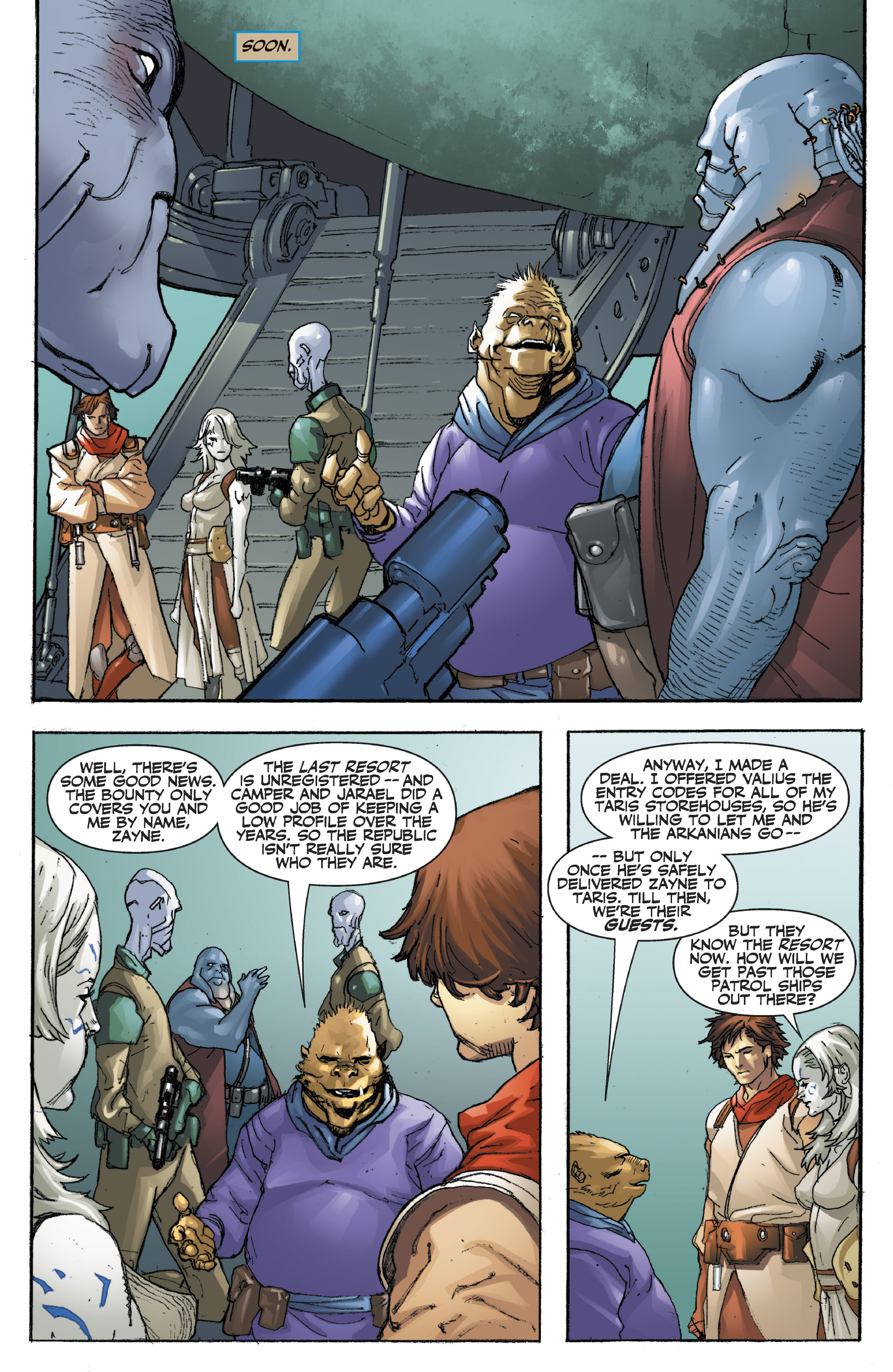 Read online Star Wars Omnibus comic -  Issue # Vol. 29 - 115