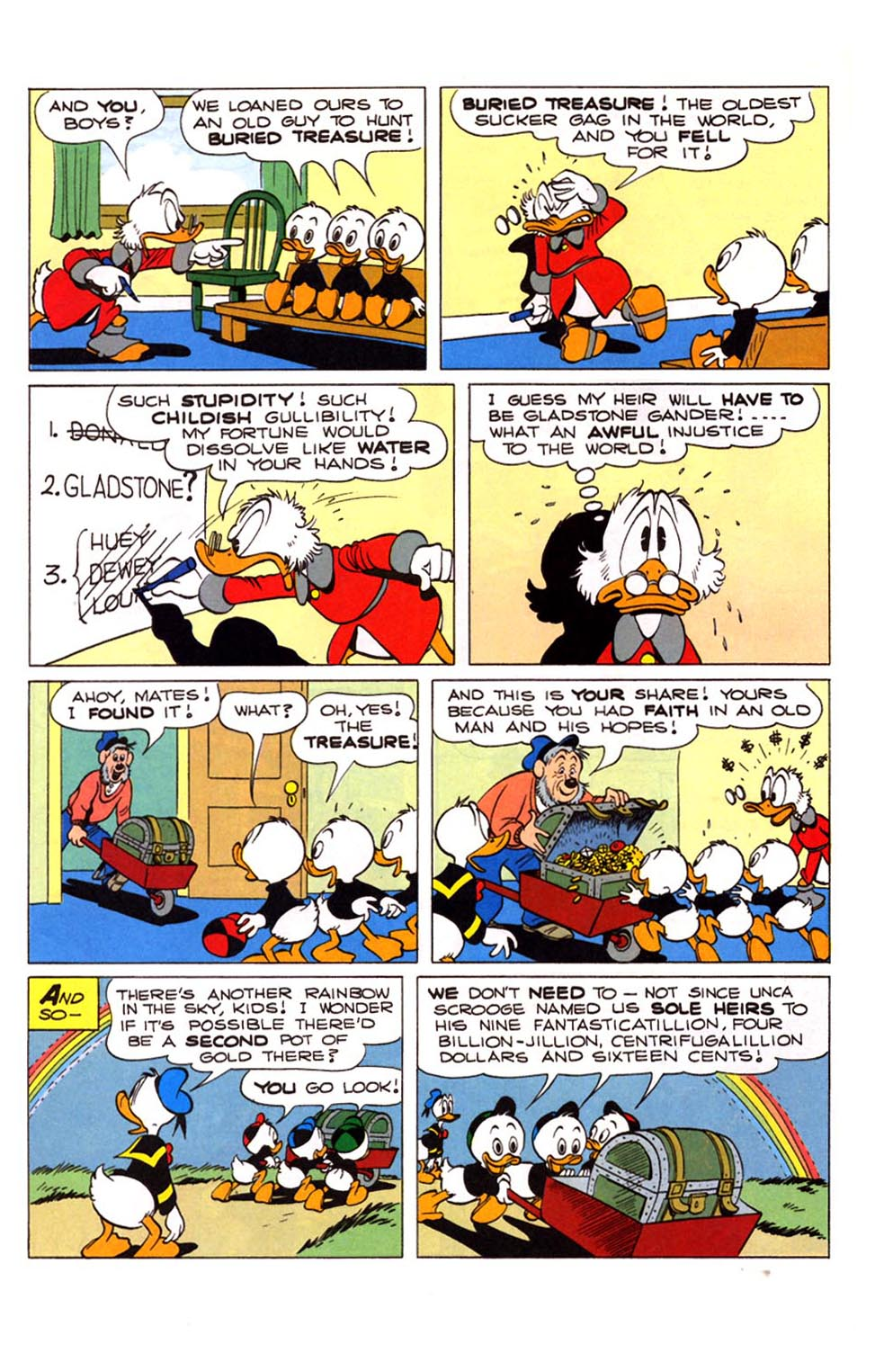 Read online Uncle Scrooge (1953) comic -  Issue #281 - 11
