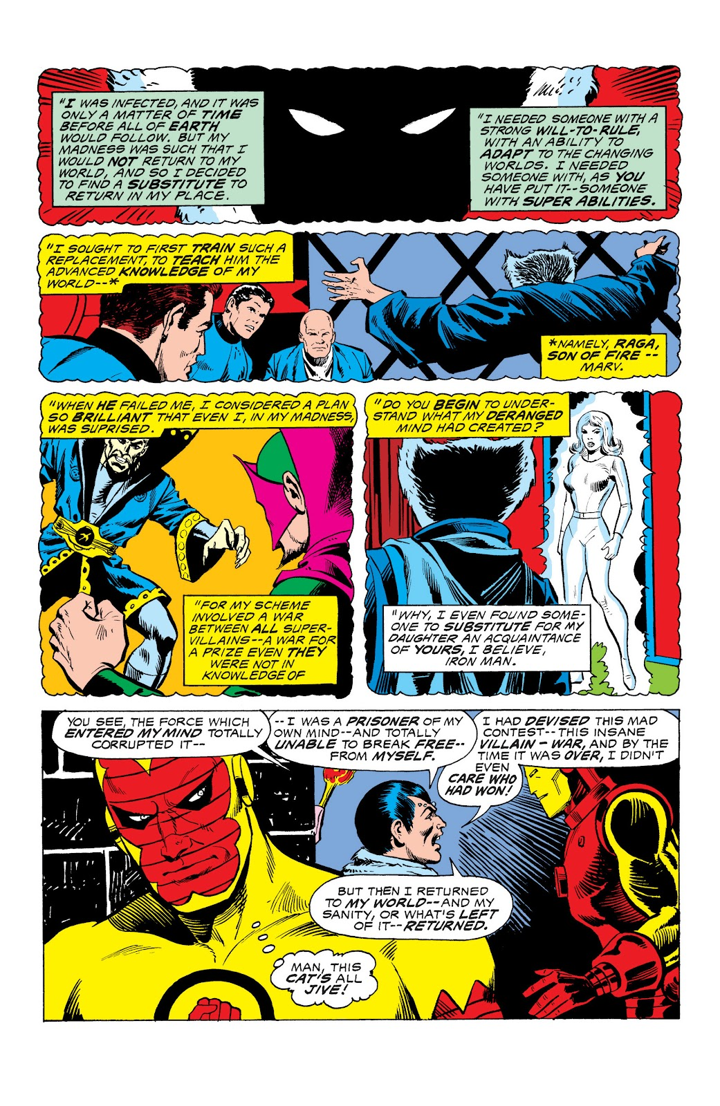 Read online Marvel Masterworks: The Invincible Iron Man comic -  Issue # TPB 10 (Part 3) - 25