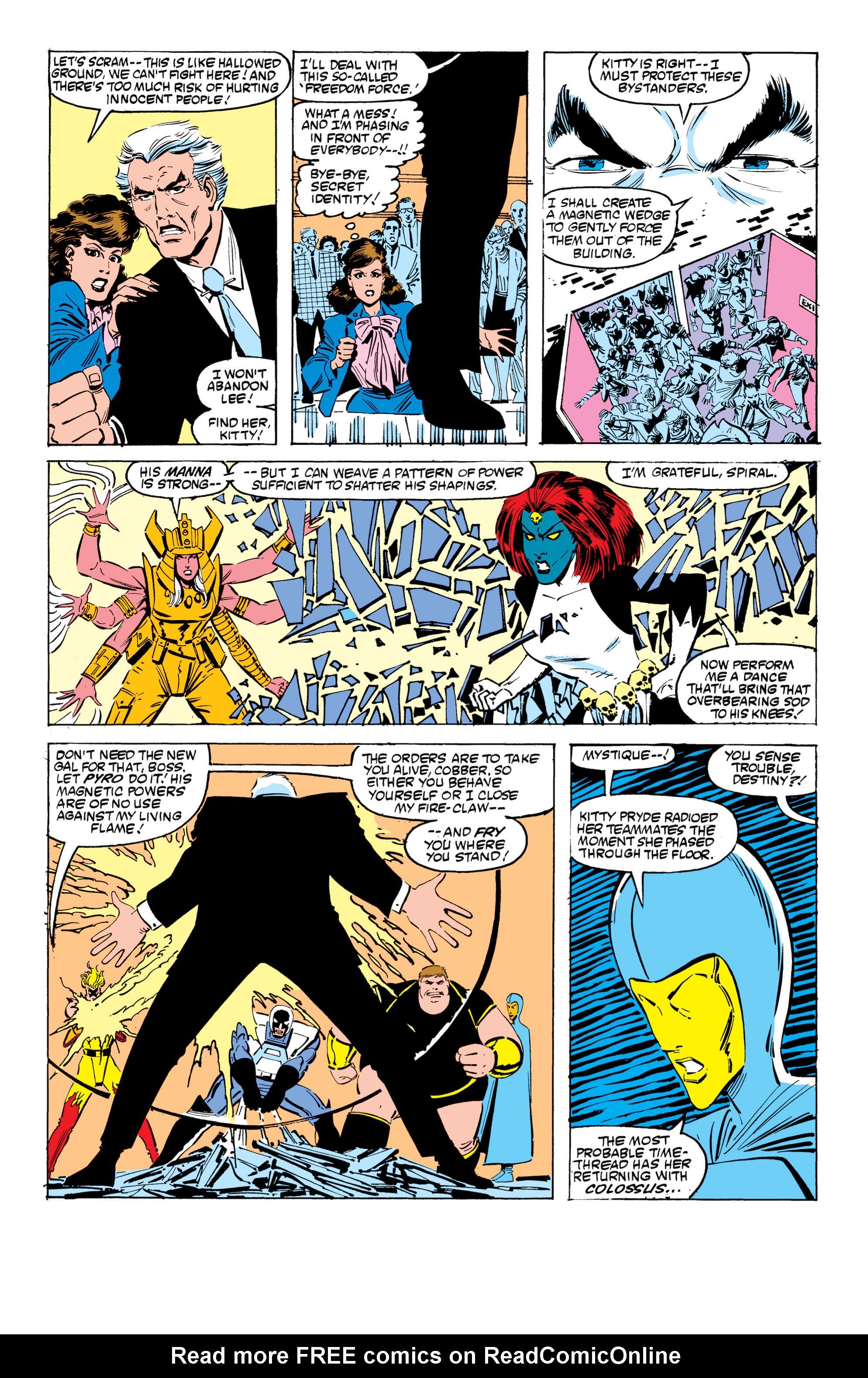 Read online Uncanny X-Men (1963) comic -  Issue #199 - 17