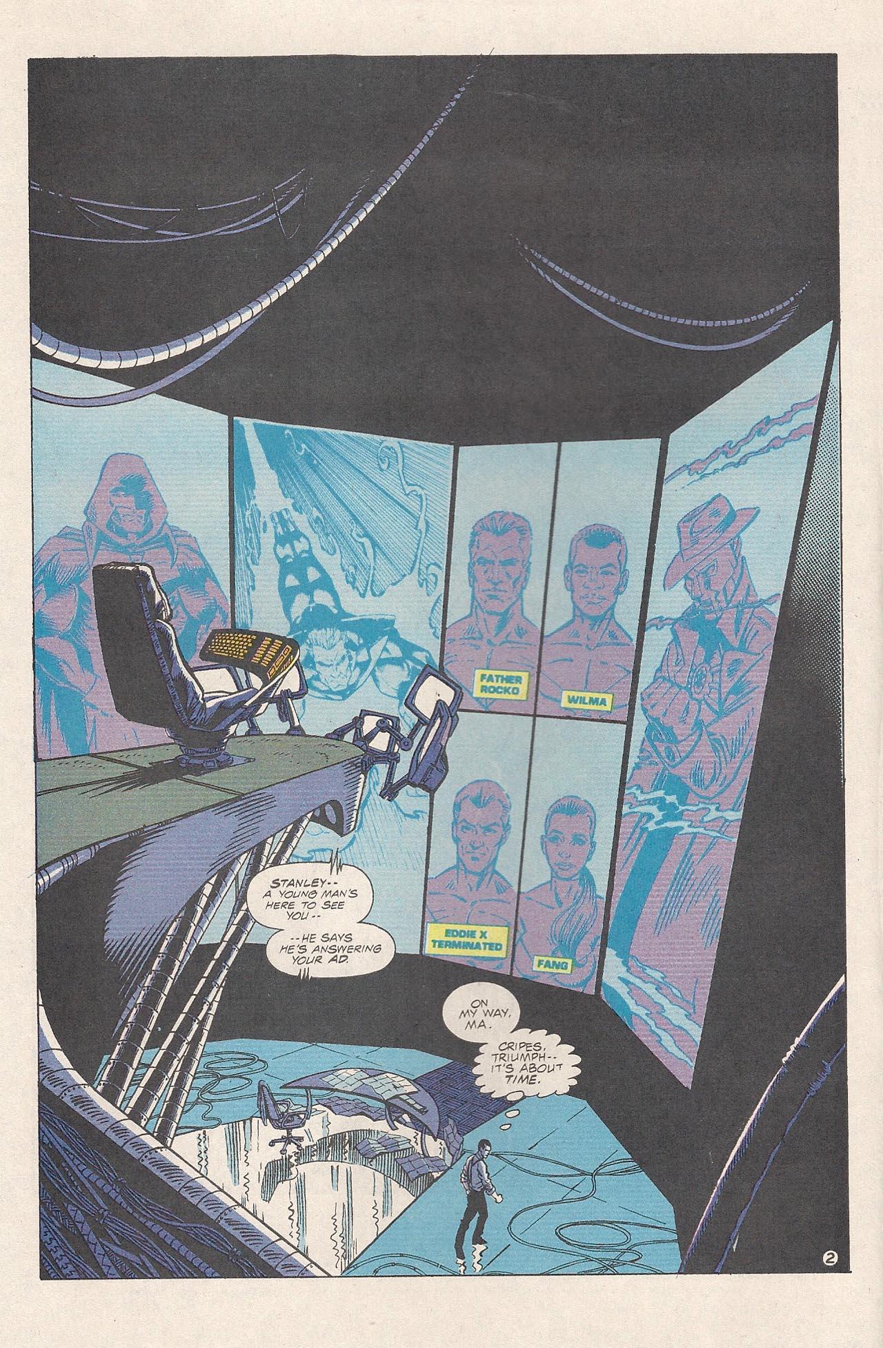Read online Triumph comic -  Issue #4 - 4