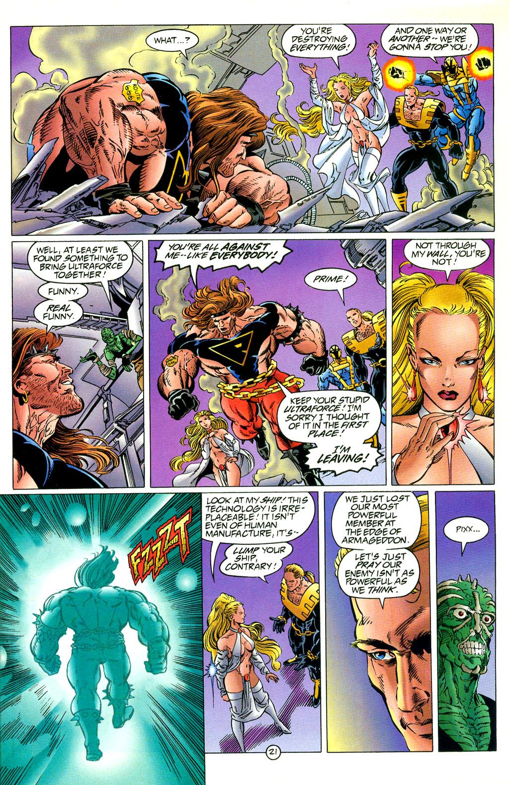 Read online UltraForce (1994) comic -  Issue #2 - 22