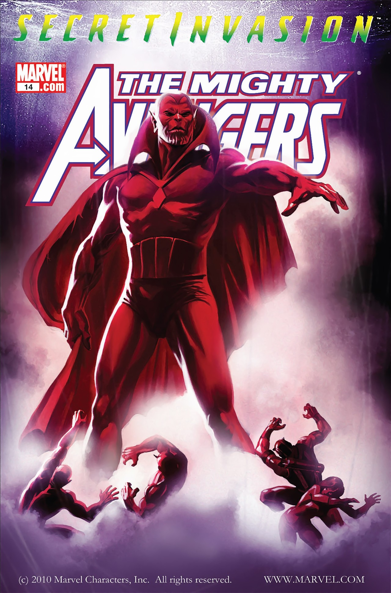 The Mighty Avengers 14 Page 1