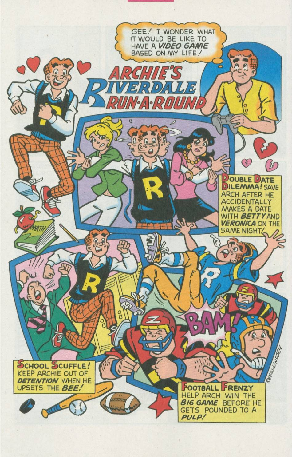 Read online Archie (1960) comic -  Issue #500 - 20
