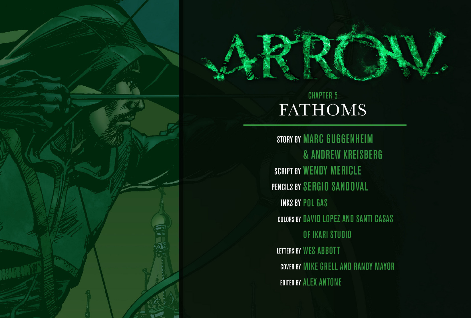 Read online Arrow [II] comic -  Issue #5 - 2