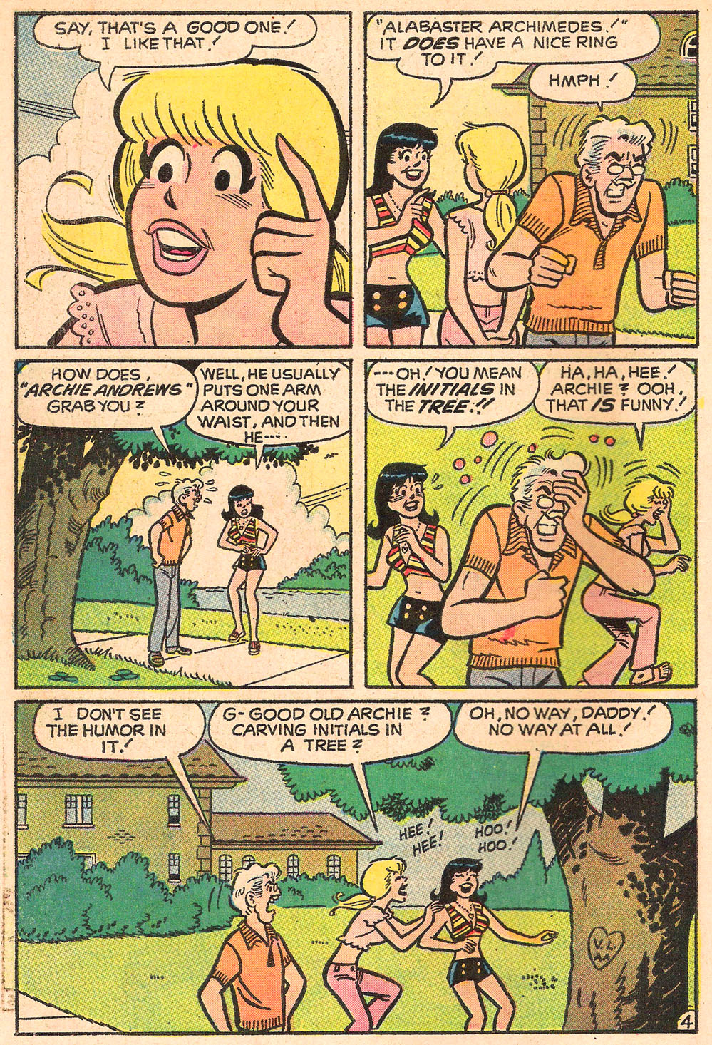 Read online Archie's Girls Betty and Veronica comic -  Issue #205 - 30
