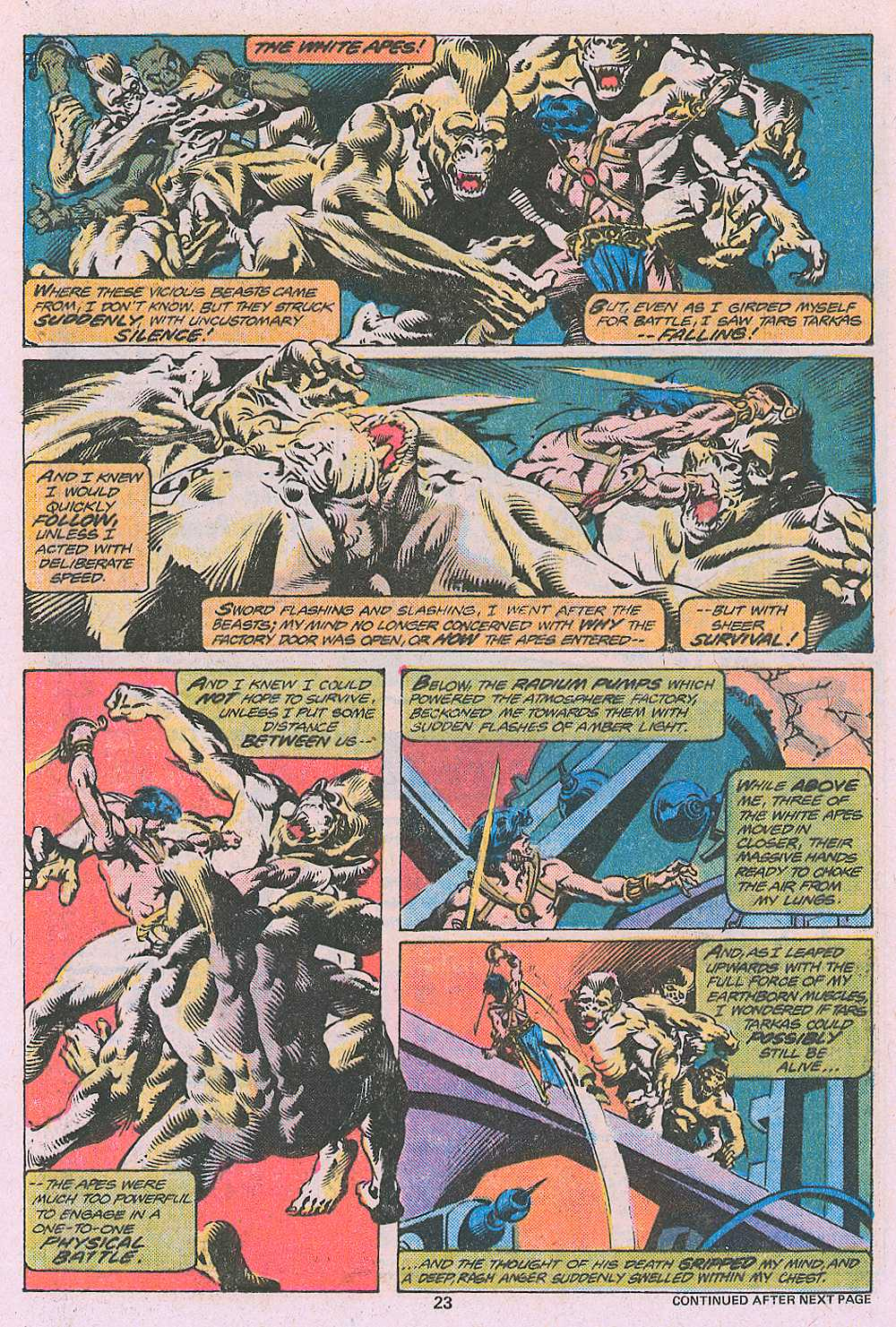 John Carter Warlord of Mars issue 2 - Page 25