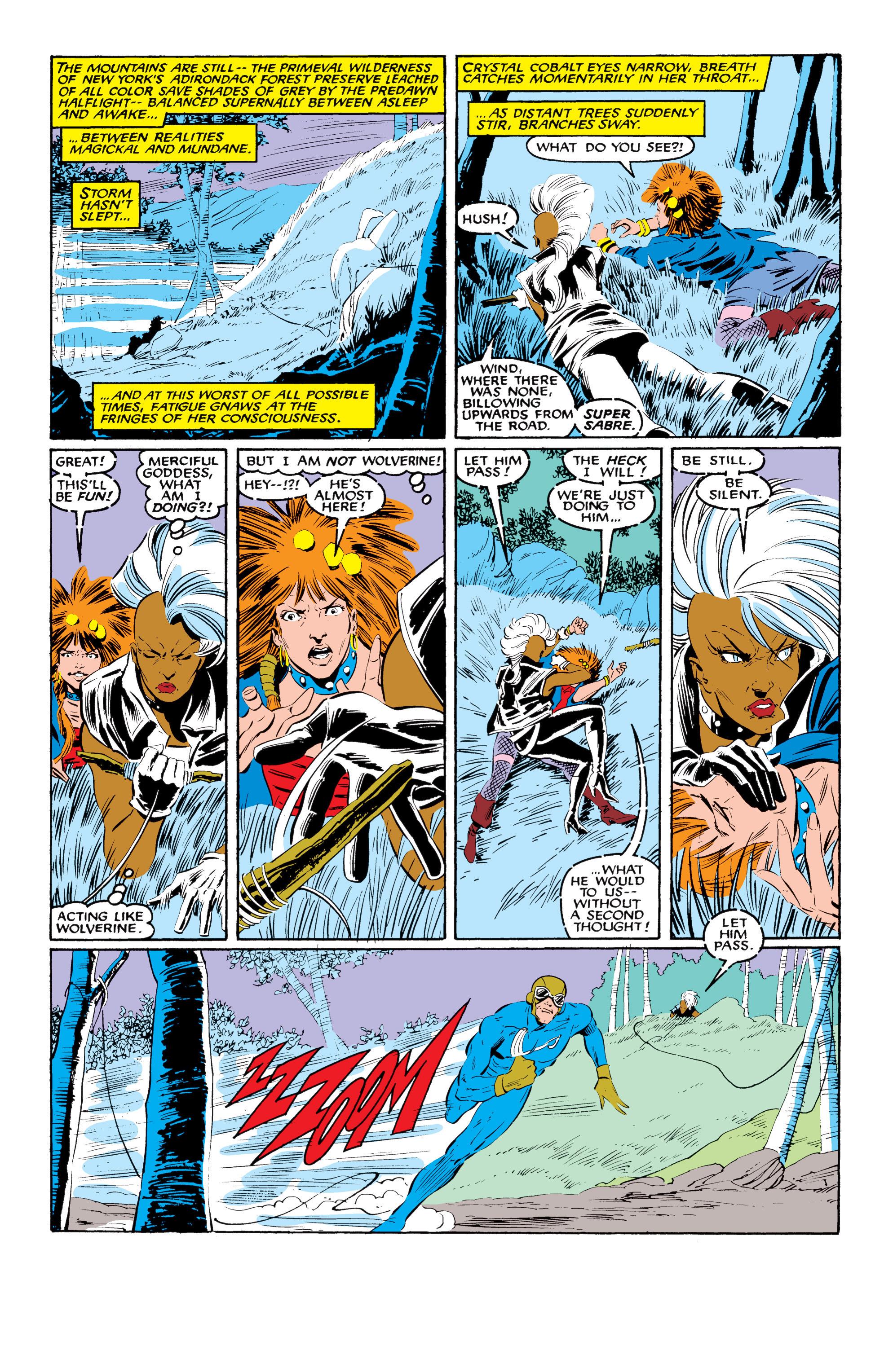 Read online Uncanny X-Men (1963) comic -  Issue #216 - 7