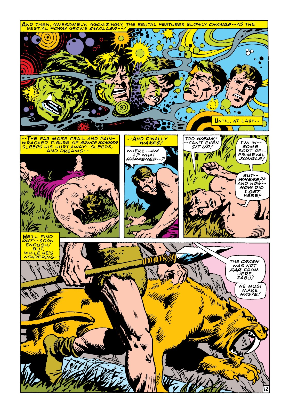 Read online Marvel Masterworks: The Incredible Hulk comic -  Issue # TPB 4 (Part 2) - 98