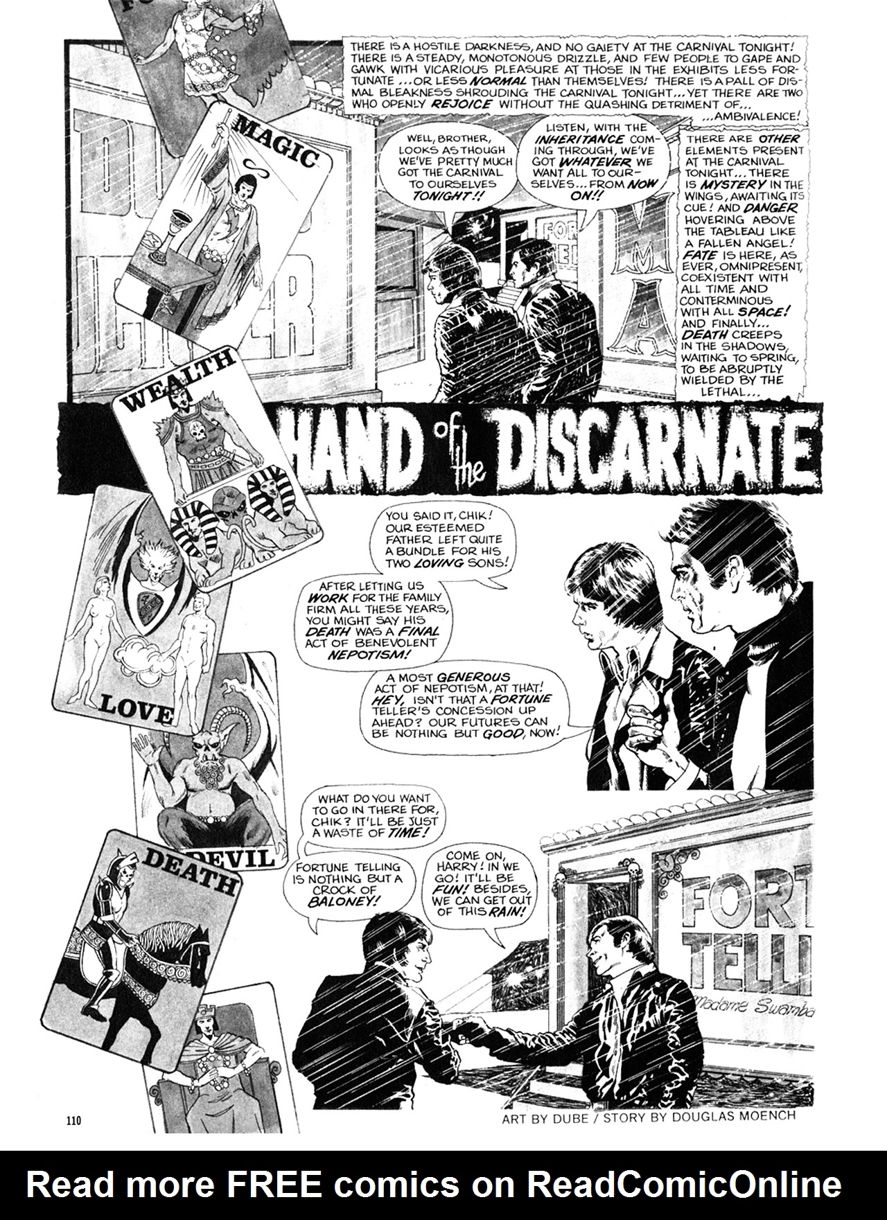 Read online Eerie Archives comic -  Issue # TPB 9 - 111