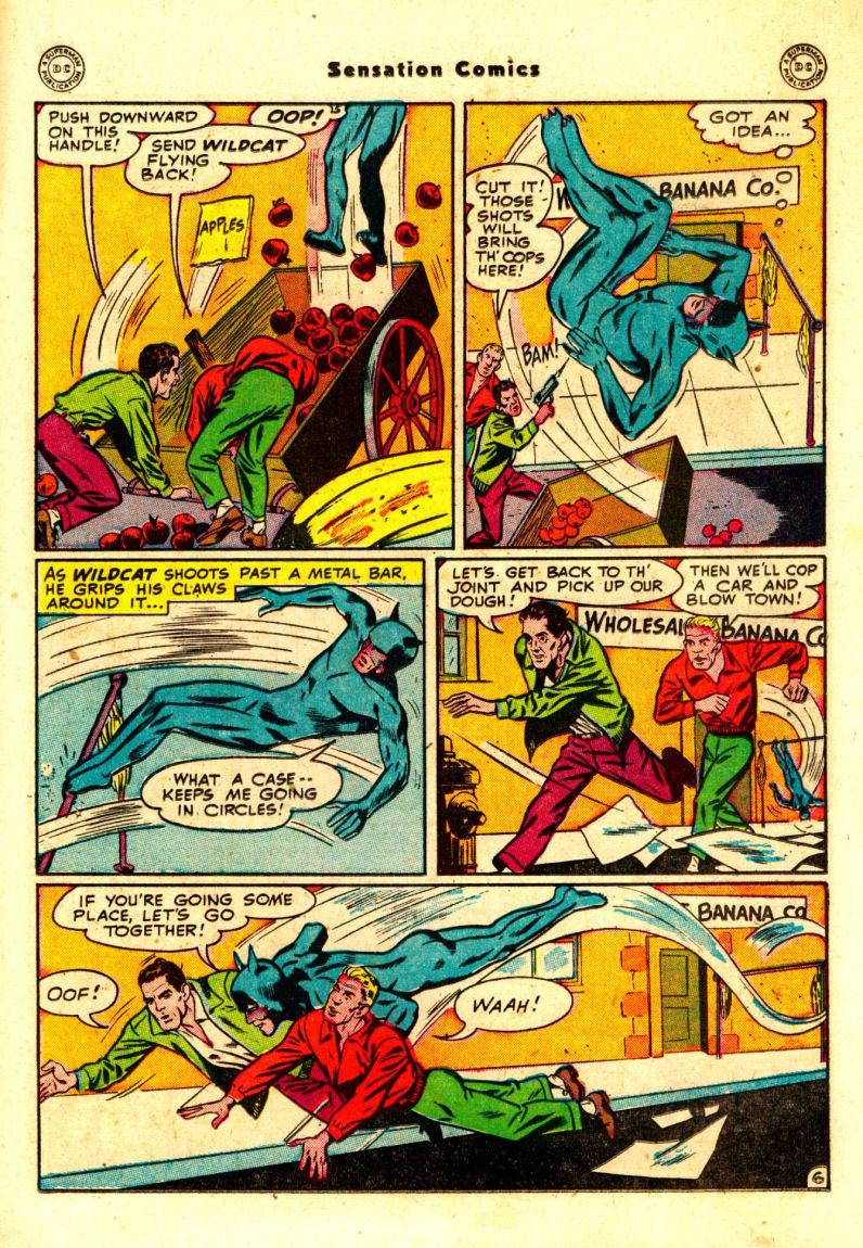 Read online Sensation (Mystery) Comics comic -  Issue #88 - 20