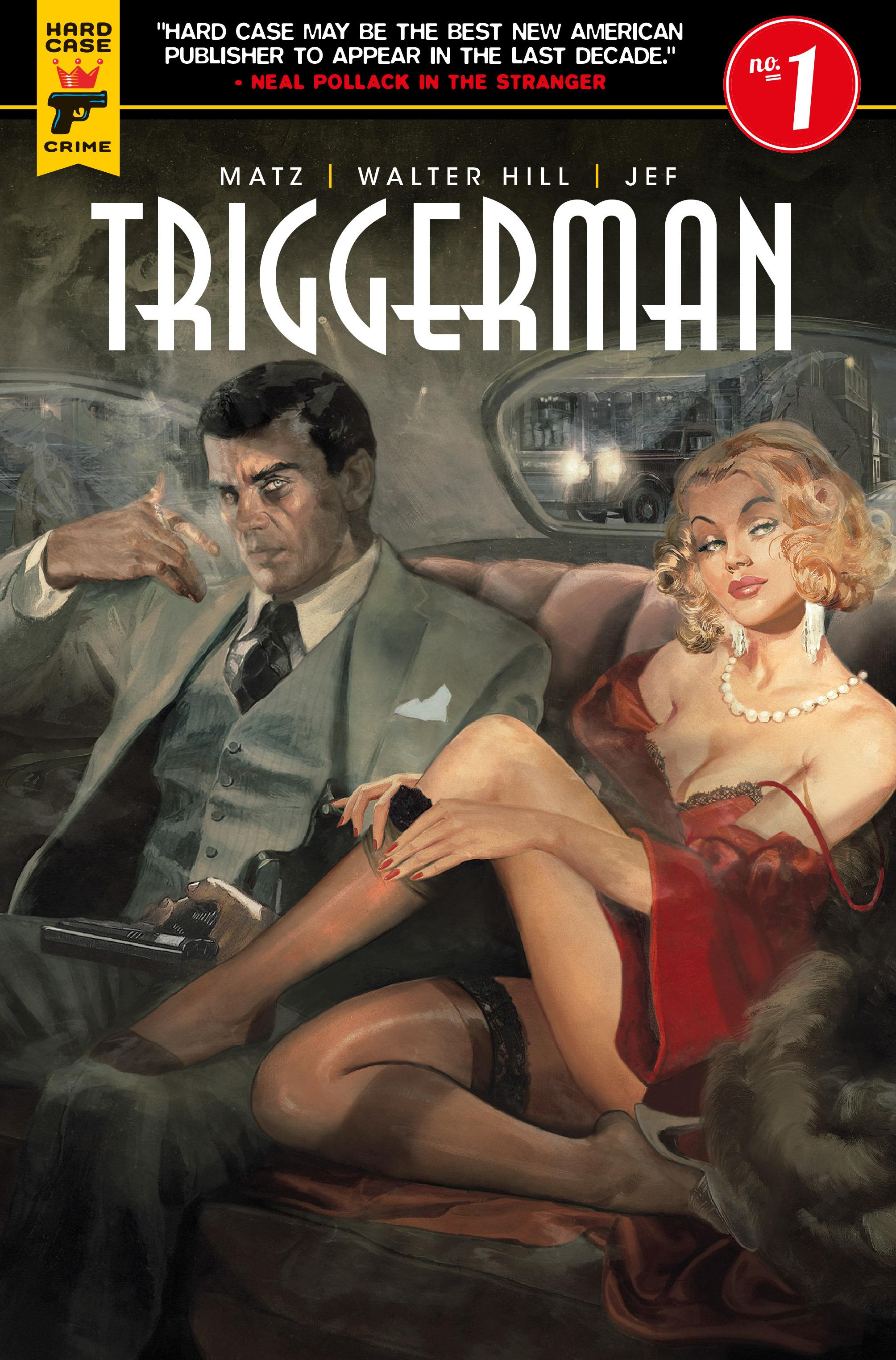 Read online Triggerman comic -  Issue #1 - 6