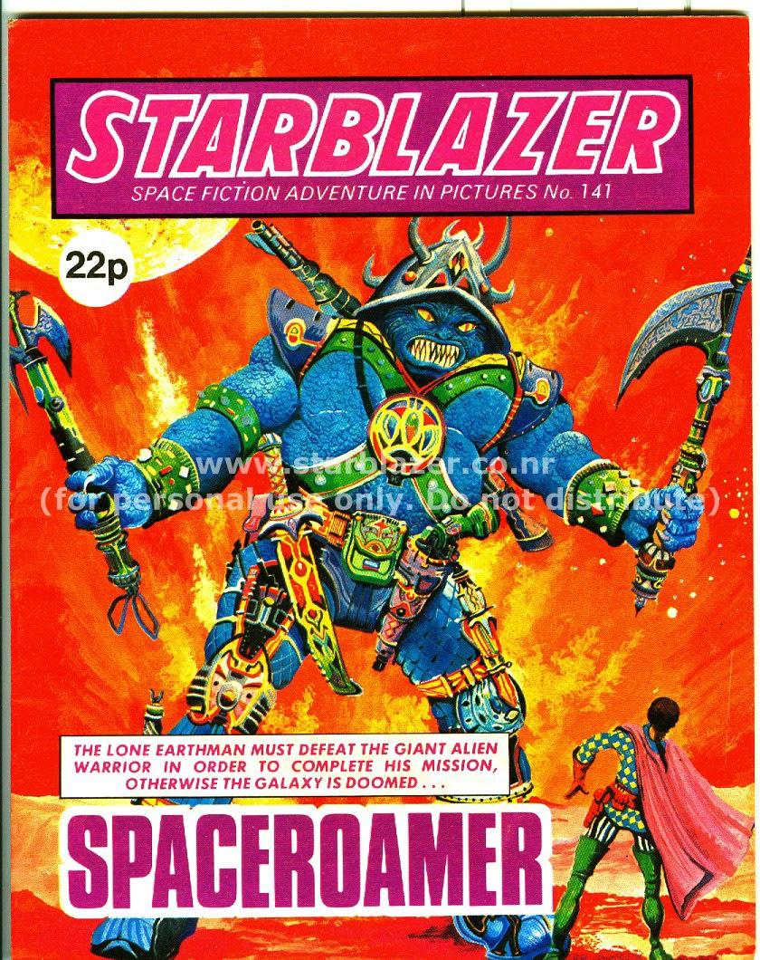 Starblazer issue 141 - Page 1
