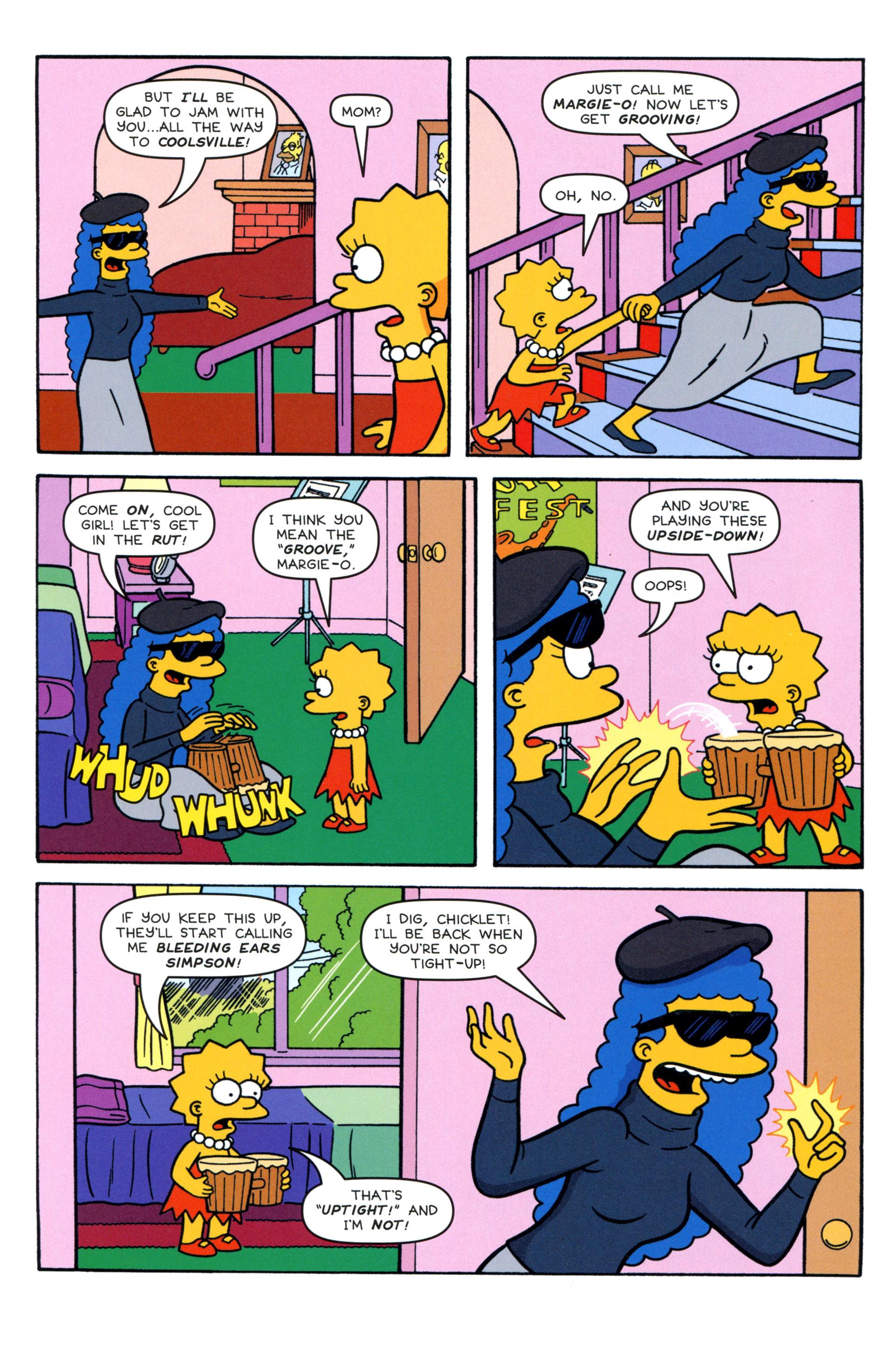 Read online Simpsons Comics comic -  Issue #204 - 12